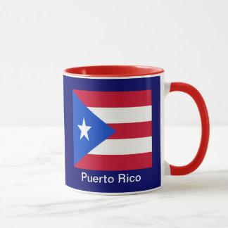 Flaggen von Puerto Rico Tasse