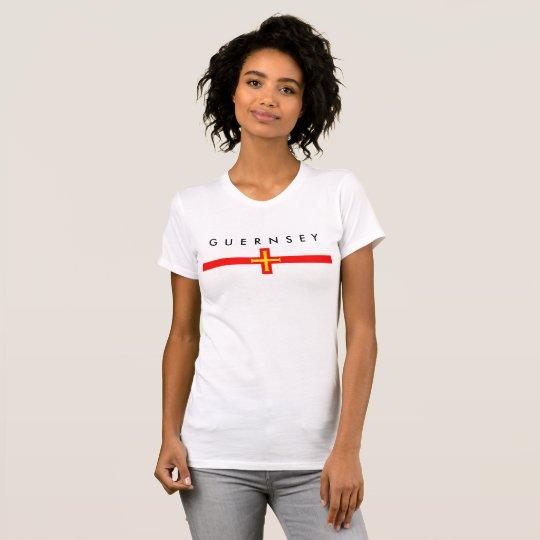 Flaggennations-Symbolrepublik Guernsey-Landes T-Shirt