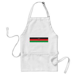 Flaggennations-Symbolrepublik Kenia-Landes lange Schürze