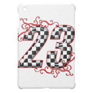 Flaggenzahl mit 23 Schachbrettern iPad Mini Schale