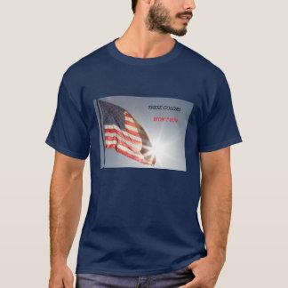 Flagget-shirt mit diesen Farben läuft nicht T-Shirt