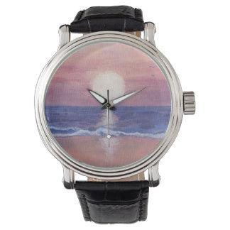 Flagler Strand-Traum Uhr