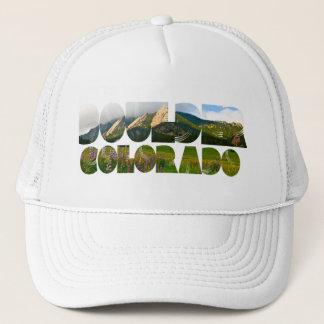 Flairons, Boulder Colorado Truckerkappe