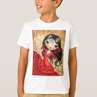 """Flamenco-Tänzer "" T-Shirt"