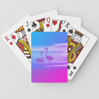 Flamingo Art. Spielkarten