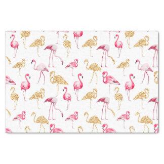 Flamingo-Druck Seidenpapier