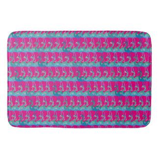 Flamingo-Herz-Muster-Bad-Matte - irgendeine Farbe Badematte