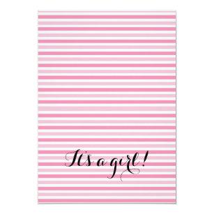 Flamingo-Mädchen-Babyparty-Einladung Einladung