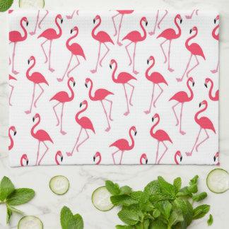 Flamingo-Muster Küchenhandtücher