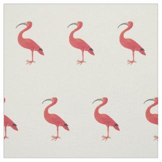 Flamingo-Muster - Kunst-Gewebe Stoff