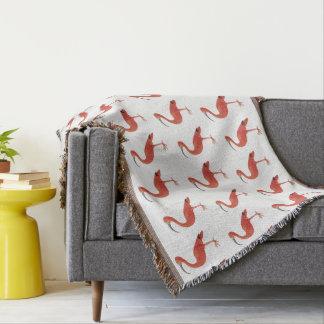 Flamingo-Muster - Kunst-Wurfs-Decke Decke