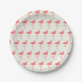 Flamingo-Party-Papier-Teller Pappteller