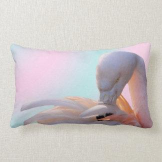 Flamingo-rosa Minze Lendenkissen