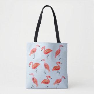 Flamingo-Strand-bitte Tasche