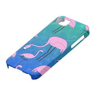 Flamingo-Teich iPhone 5 Hüllen
