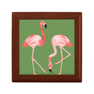 Flamingo-Vögel Geschenkbox