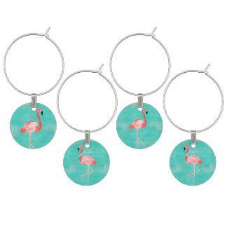 Flamingo-Vögel Glasmarker