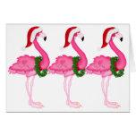 Flamingo-Weihnachtskarte - SRF