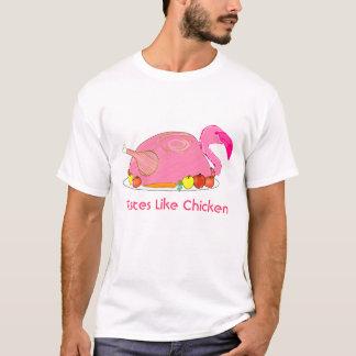 Flamingogeschmäcke mögen Huhn T-Shirt