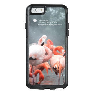 Flamingos Smithsonian | im Schnee OtterBox iPhone 6/6s Hülle
