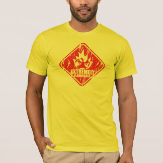 Flammable Extremely Drache T-Shirt
