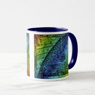 Flammarion Himmel und Erdstich-Grafik Tasse