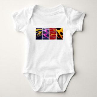 Flammen Baby Strampler
