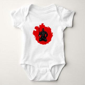Flammen Ninja Baby Strampler