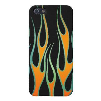 Flammen-Speck-Kasten iPhone 5 Hülle