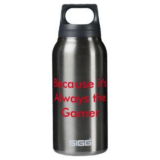 Flasche des heißen u. kalten Wassers BTG Zitats
