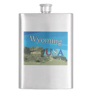 Flasche Wyomings USA Flachmann