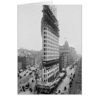 Flatiron Gebäude Construction, 1902 Karte