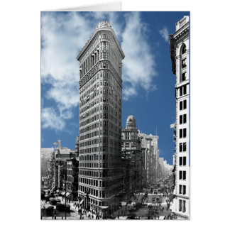 Flatiron Gebäude New York City Karte
