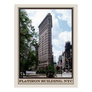 Flatiron Gebäude, NYC Postkarte