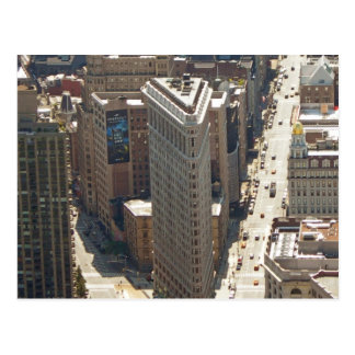 Flatiron Gebäude Postkarte