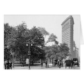 Flatiron von 5., NYC: 1906 Karte