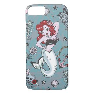Flaum-Molly-Meerjungfrau iPhone 7 Fall iPhone 8/7 Hülle