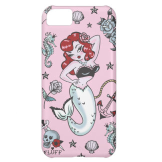 Flaum-Molly-Meerjungfrau-Rosa Iphone 5 Fall iPhone 5C Hülle