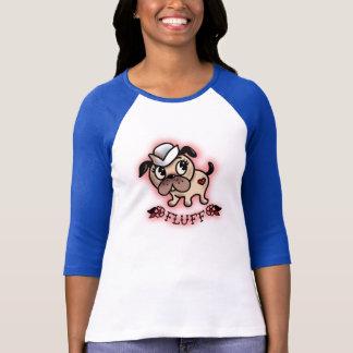 Flaum Monty das Seemann-Hundet-shirt T-Shirt