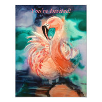 Flaumiger Flamingo