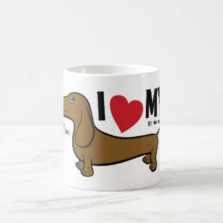 """FLDR """"ich die meine Liebe"""" mache roten Kaffeetasse"""