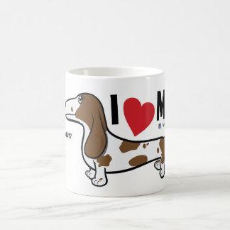 """FLDR """"ich Liebe mein"""" glatter Kaffeetasse"""