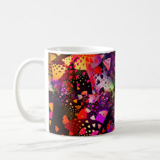 Flecken-Fraktal Kaffeetasse