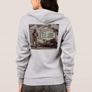 Fleece-Reißverschluss T.I. Hoodie der Frauen Flex