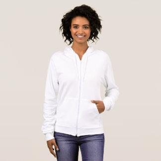 Fleece-ZipHoodie der Frauen amerikanischer Kleider