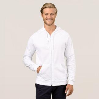 Fleece-ZipHoodie der Männer amerikanischer Kleider