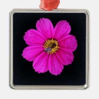fleißige Biene Silbernes Ornament