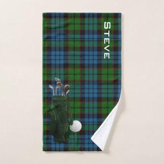 Fletcher kariertes Golf-Tuch Handtuch