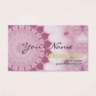 Fleur abstraite moderne professionnelle de rose de cartes de visite