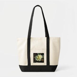 Fleur blanche sac en toile impulse
